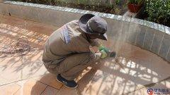 夏意雅园某栋露台防水补漏施工案例